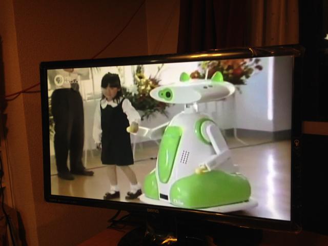 後継機、病院案内ロボット